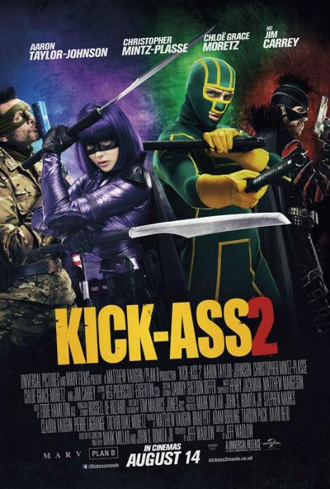 kick ass 2 poster