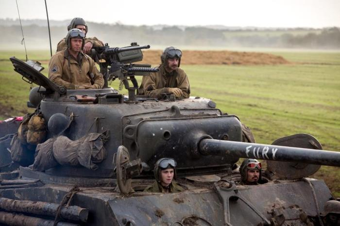 Fury movie 2014